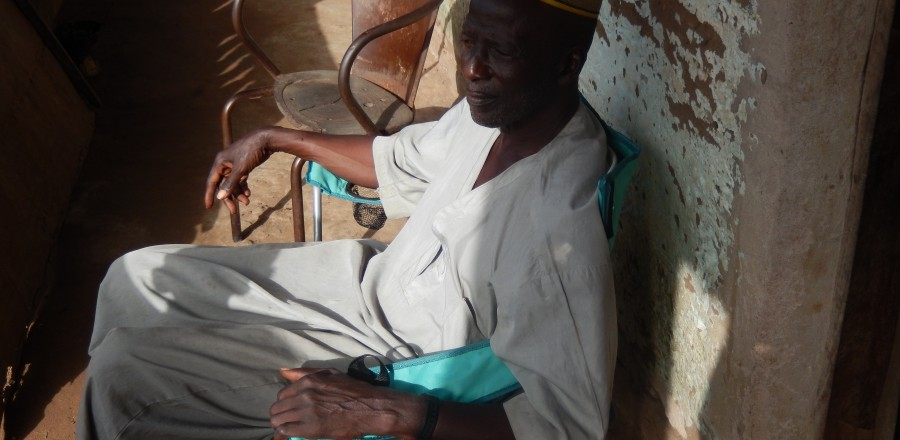 Moutaro Djabaté, chef du Village