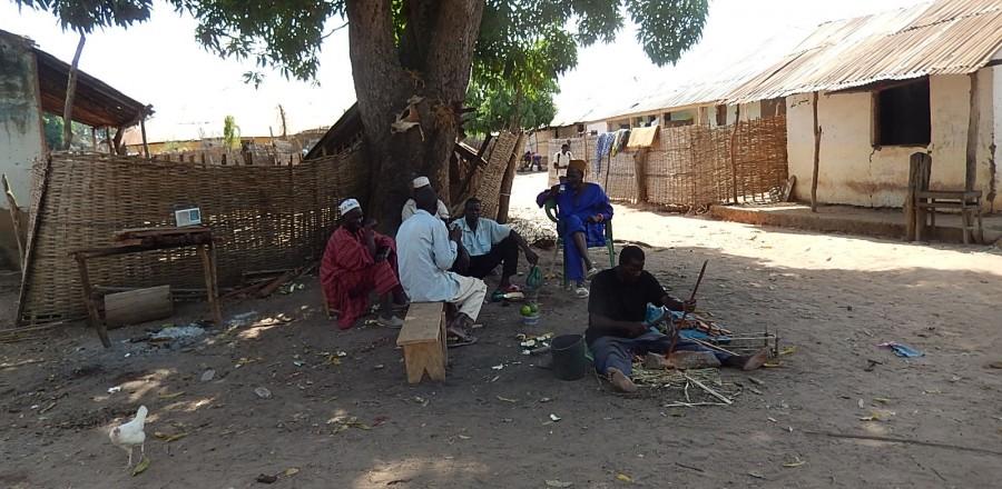 Atelier Balafon sur la place du Village