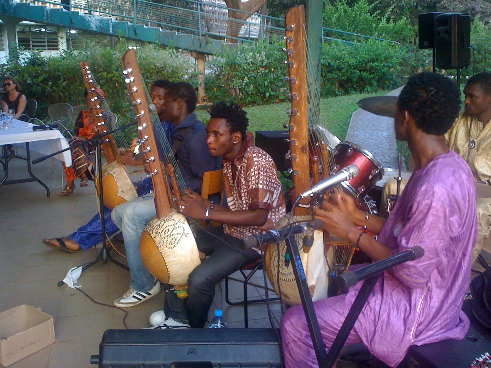 En concert au Novotel de Conakry pour Rio Tinto
