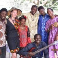 Le groupe au Novotel de Conakry