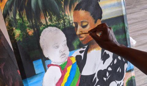 Enc réation 4 Maman et bébé