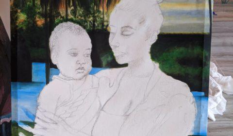 En création 3 Maman et bébé